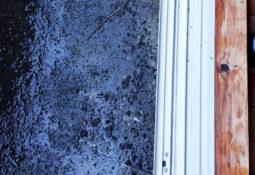 窓のサッシ お掃除後